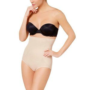 NWT! Miraclesuit Hi-Waist Brief 2915 Nude S
